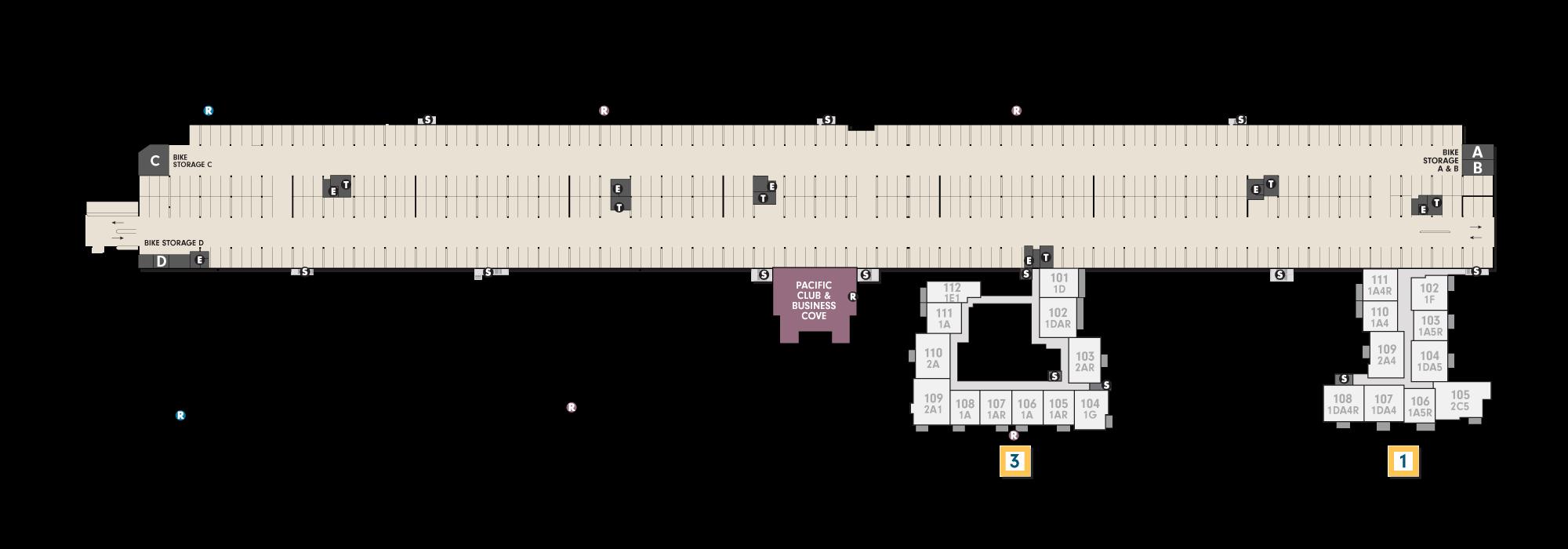 Site Plan Ground Level   Wayfarer